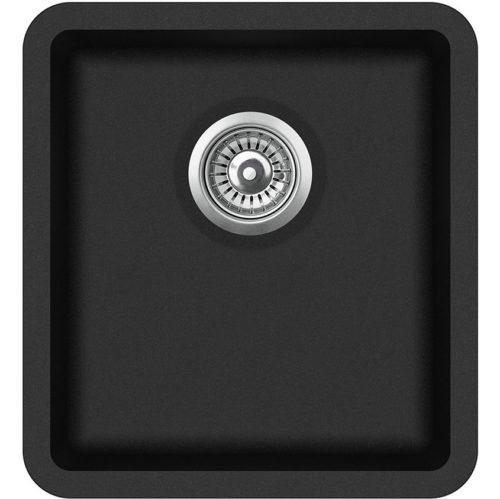 Гранитная мойка AquaSanita SQA101W 601 Black