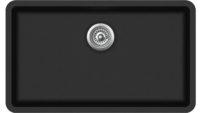 Гранитная мойка AquaSanita SQA104W 601 Black