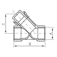 Фильтр с отстойником 3/4 » Ferro (F03)