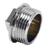 Заглушка латунная 1/2″ Ferro (KOR3C)