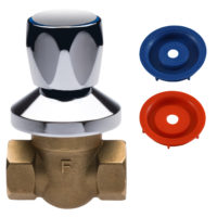 Шаровой кран для воды 1/2″ Ferro (KPP1P)
