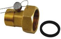 Полумуфта латунная для водомера 1/2″ — 2 штуки Ferro (SG11)