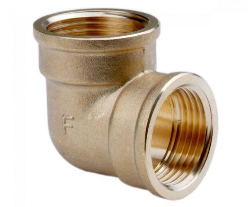 Колено нарезно-нарезное 1/2″ Ferro (K03ZW)