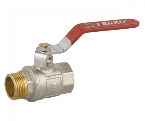 Кран шаровой 2″ Ferro (KP61)