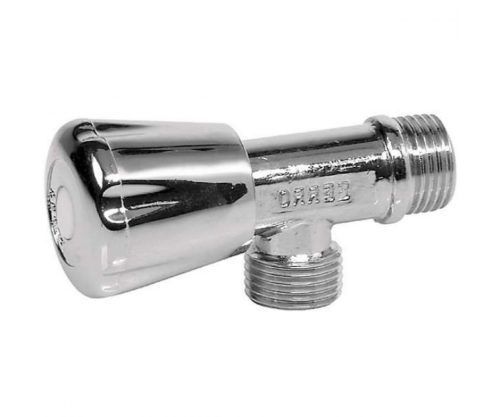 Угловой кран для воды 1/2″X3/8″ Ferro (Z240)