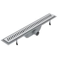 Линейный трап с сухим затвором 700 мм VOLLE (90-22-703)
