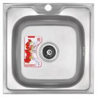 Мойка кухонная ZERIX Z5050-06-160MD (micro decor) (ZS0581)
