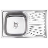 Кухонная мойка Lidz 7848 Micro Decor 0,8 мм (LIDZ7848MDEC) SD00040857