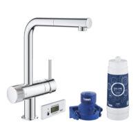 Смеситель для кухни с фильтром Grohe Blue Pure Minta 30382000