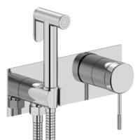 Смеситель скрытого монтажа с гигиеническим душем IMPRESE BRENTA (ZMK071901122)