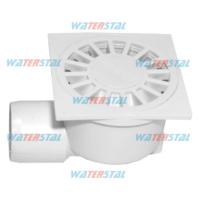 Трап 150*150 мм, боковой отвод, D 50, пластиковый «Waterstal» (YS 425)