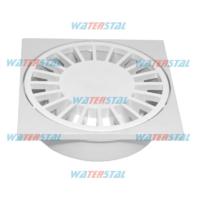 Трап 150*150 мм, нижний отвод, D 50, пластиковый «Waterstal» (YS 415)