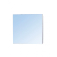 Шкаф 80 см зеркальный настенный в ванную ЗШ-80х70 Мойдодыр