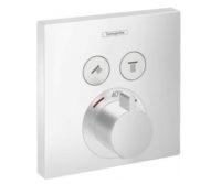 Термостат для 2х потребителей HANSGROHE SHOWER (SELECT 15763700)