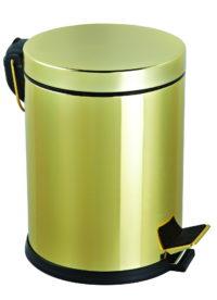 Ведро для мусора с педалью + ершик для унитаза (951GEFOR)