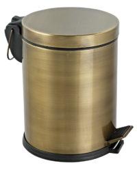 Ведро для мусора с педалью + ершик для унитаза (951AEFOR)