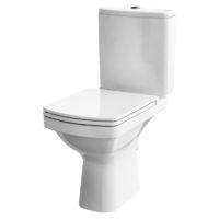 Унитаз напольный с сиденьем Cersanit Easy Clean On (K102-028)
