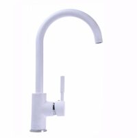 Смеситель для кухни Globus Lux LAZER GLLR-0203S 7-WHITE