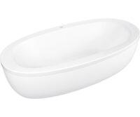 Ванна акриловая овальная 190х100см PoolSpa Aura (PWR7810ZS000000)