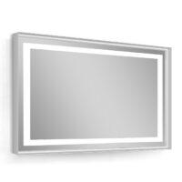 Зеркало 80х60см в алюминиевой раме, с подсветкой и подогревом (B4298000G)