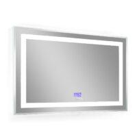 Зеркало 80х70см с подсветкой, bluetooth, дата, время, температура, радио (B4338000)