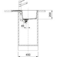 Мойка Franke S2D 611-62 (143.0627.381) маскарпоне