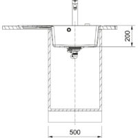 Мойка Franke Centro CNG 611-78 TL (114.0630.471) оникс