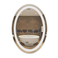 Зеркало Qtap Mideya с антизапотеванием (DC-F805) 500х700 QT2078F805W