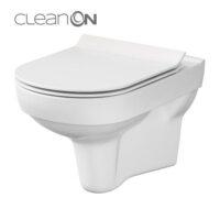 CET Cersanit 794 CITY NEW CLEAN ON подвесной з сиденьем дюропласт лифт SLIM