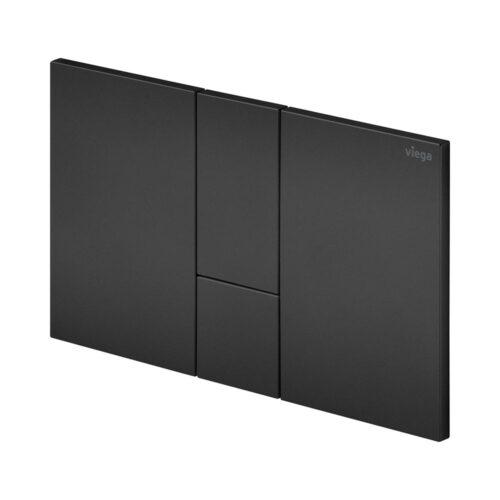 Панель смыва Viega Prevista Style 24, пластик чёрный матовый (801748)