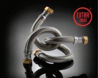 Шланг антивібраційний прямий TUCAI EXTRA TWIST 1″ 0,5м. RIVER MG-1-500 204741