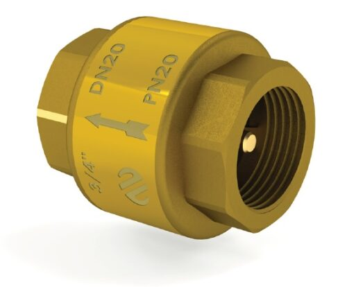 Клапан обратного хода  латунний шток ARCO    1 1/4″ 191406 SPAIN
